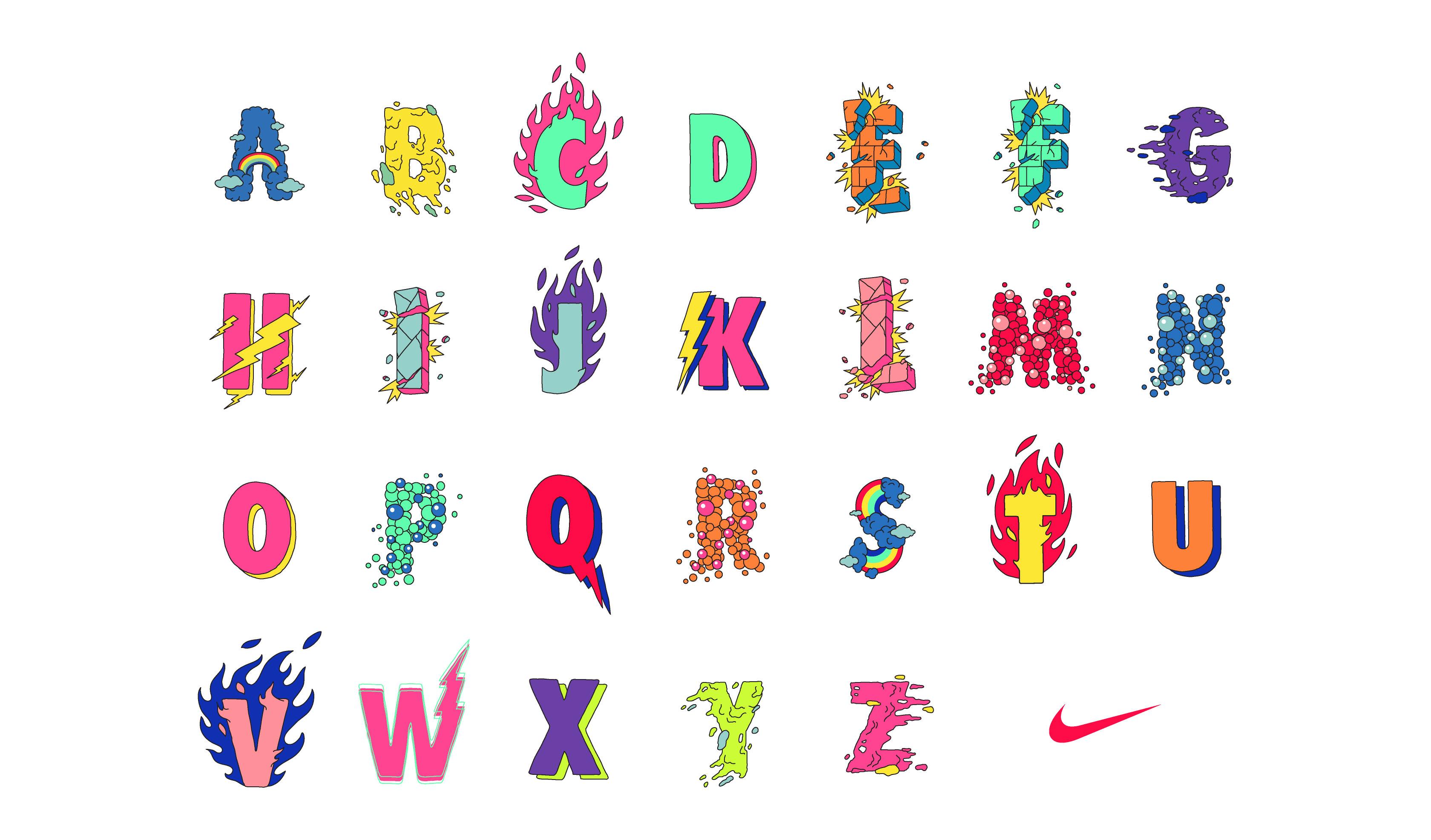 Nike-alphabet